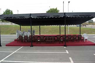 Ceremony and Commemoration Tents